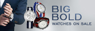 Big, Bold Watches on Sale