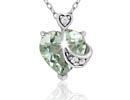 Green Amethyst Necklaces