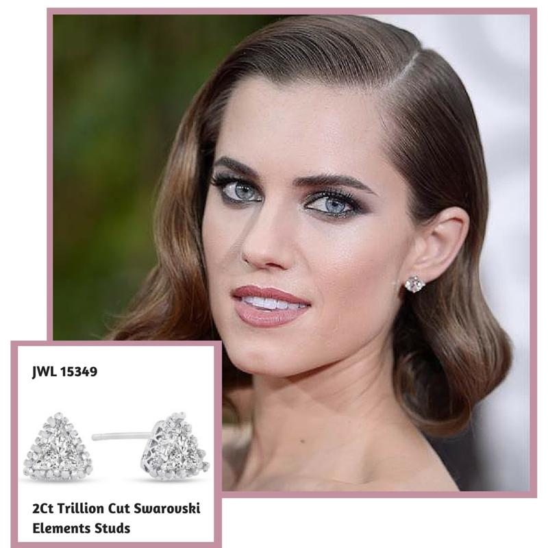 2Ct Trillion Cut Swarovski Elements #allisonwilliams #goldenglobes #superjeweler (1)