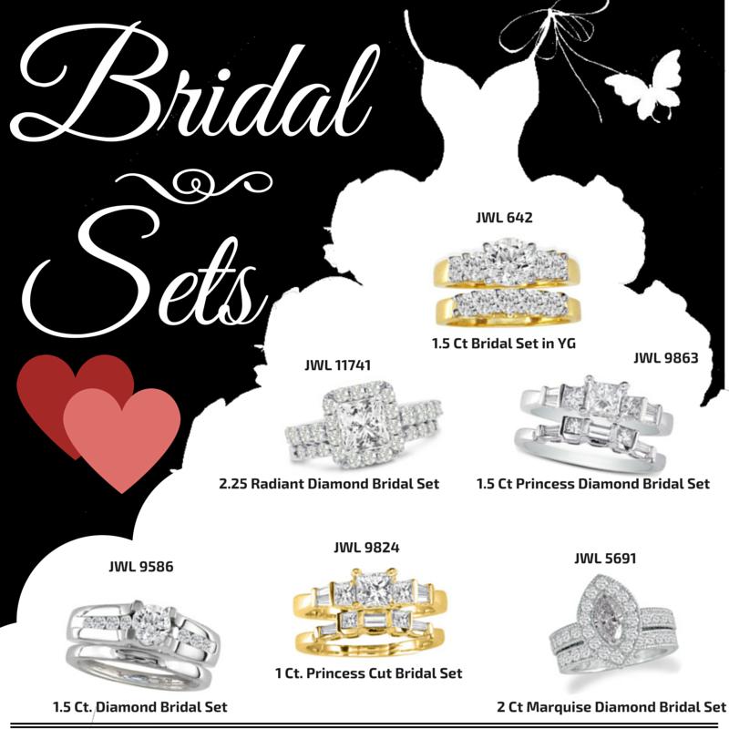#superjeweler #bridalsets #valentinesday #diamond #engagement (2)