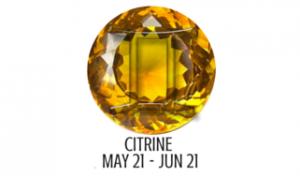 CITRINE - GEMINI
