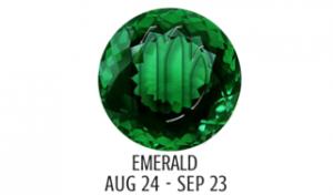 EMERALD - VIRGO