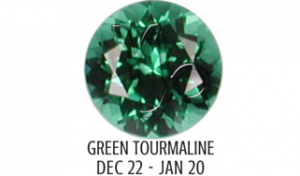 GREEN TOURMALINE - CAPRICORN