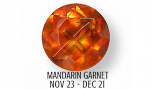 MANDARIN GARNET - SAGITTARIUS