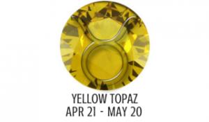 YELLOW TOPAZ - TAURUS