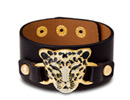 Swarovski  Elements Tiger Leather Bracelet