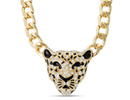 Swarovski  Elements Tiger Statement Necklace, 22 Inches