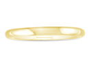 Heavy 3mm 14K Yellow Gold Ladies Wedding Band, Size 5.5