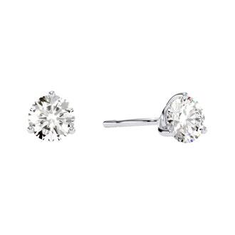 1/2ct Round Diamond Earrings