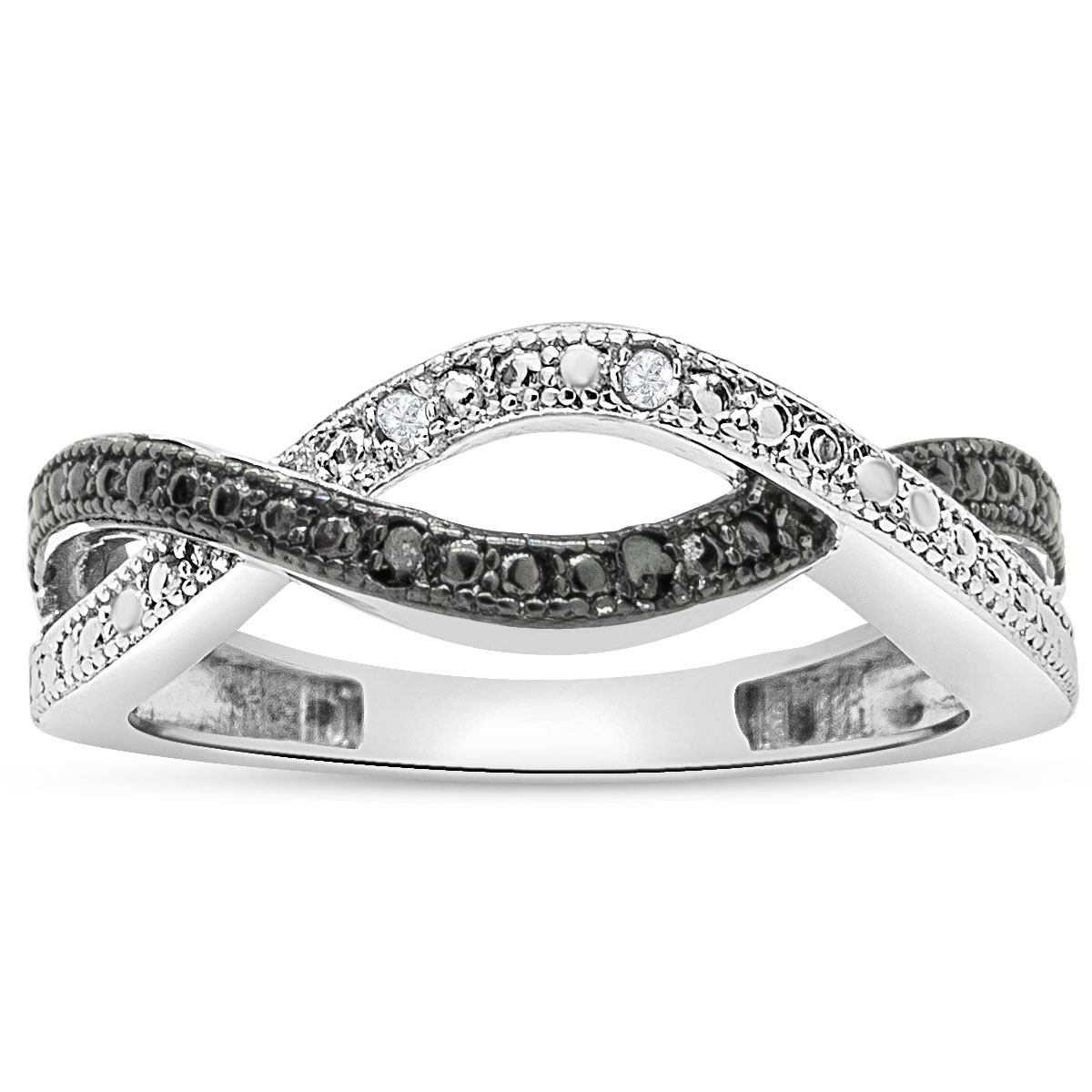 black and white infinity ring superjeweler