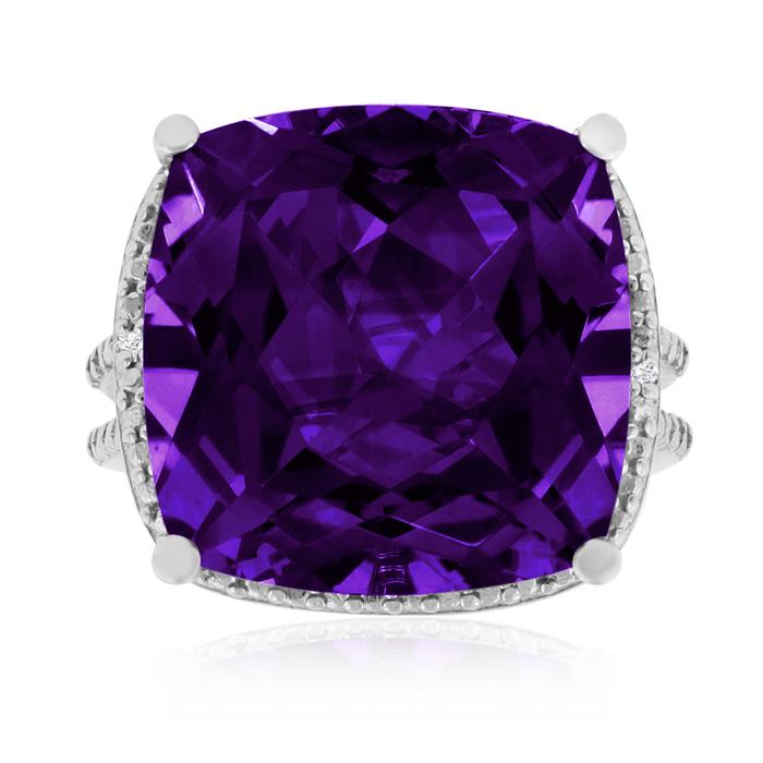 12ct Purple Amethyst Ring