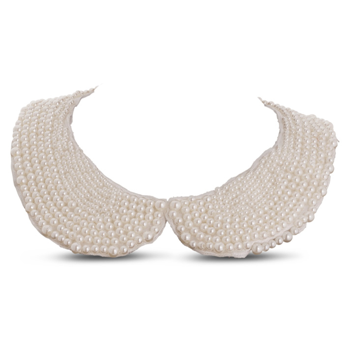 Classic Pearl Collar Necklace