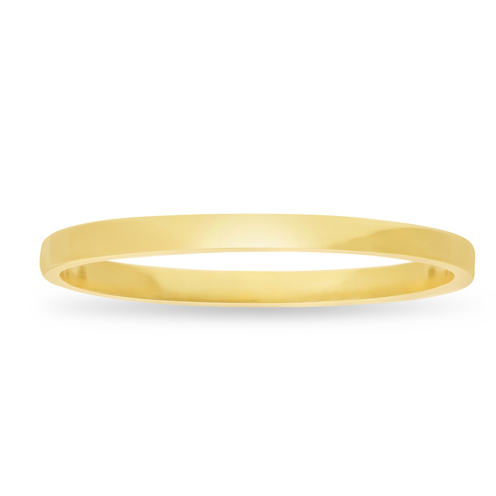 Gold Knuckle Ring Crafted In 14 Karat Yellow Gold Over Sterling Silver