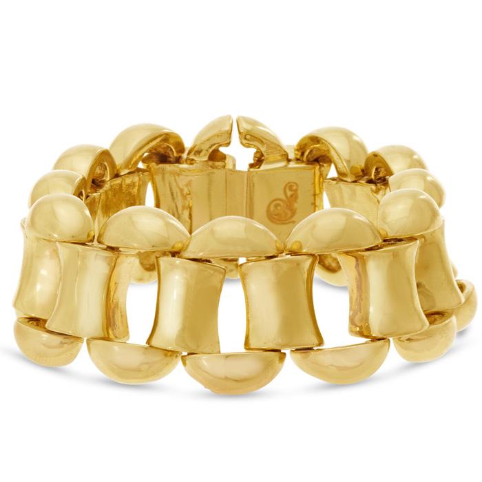 Classic Gold Chain Bracelet