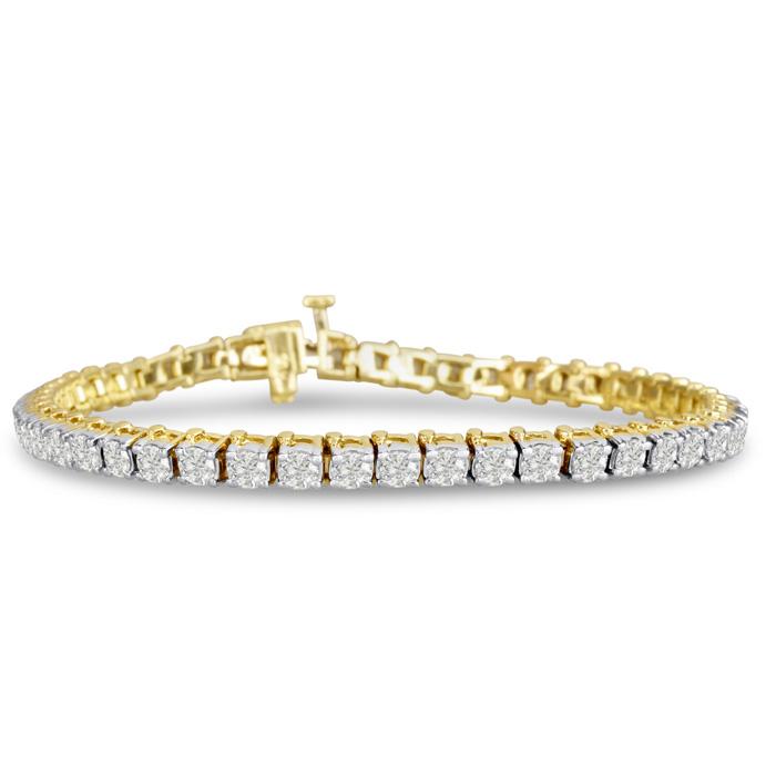 Diamond Tennis Bracelets: 5ct Diamond Tennis Bracelet In ...