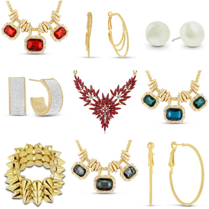 Nine Pieces of Jewelry - One Amazing Price!