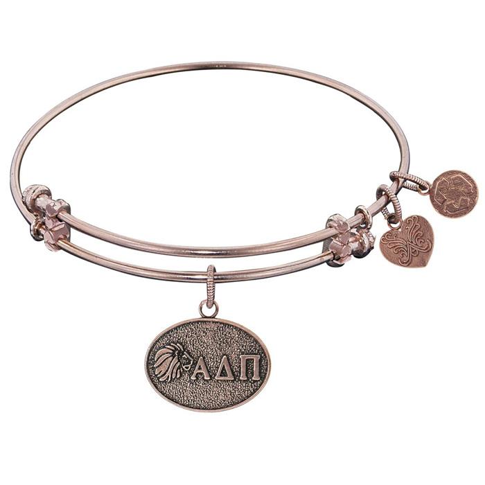 Angelica Bracelet Alpha Delta Pi Antique Gold Tone