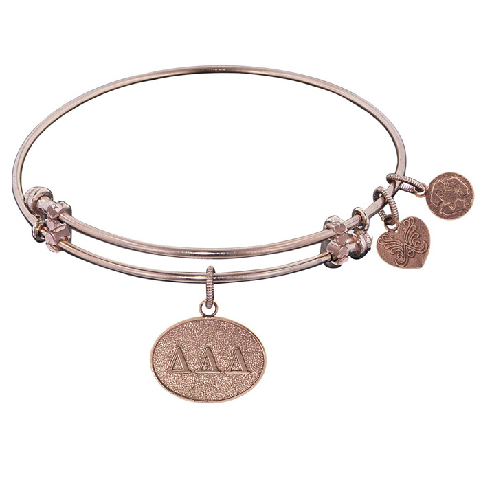 Angelica Bracelet Delta Delta Delta Antique Gold Tone