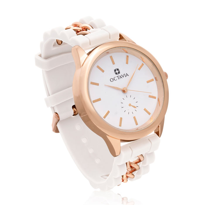 Octavia Ladies Magnifica Watch - White
