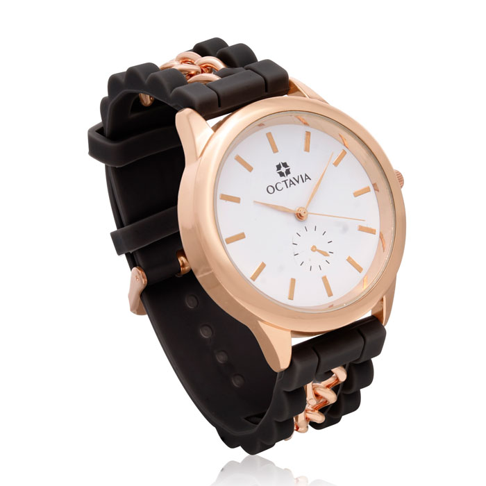 Octavia Ladies Magnifica Watch - Black