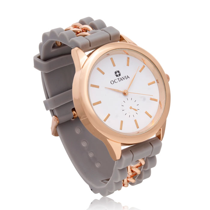 Octavia Ladies Magnifica Watch - Gray