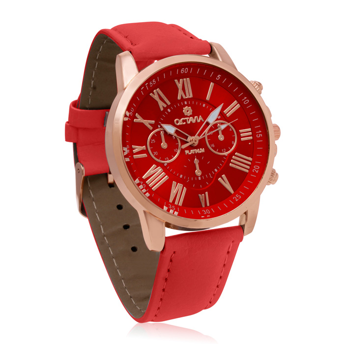 Octavia Women's Toscana Watch - Red