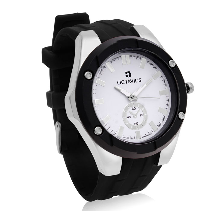 Octavius Men's The Hank Watch - Black