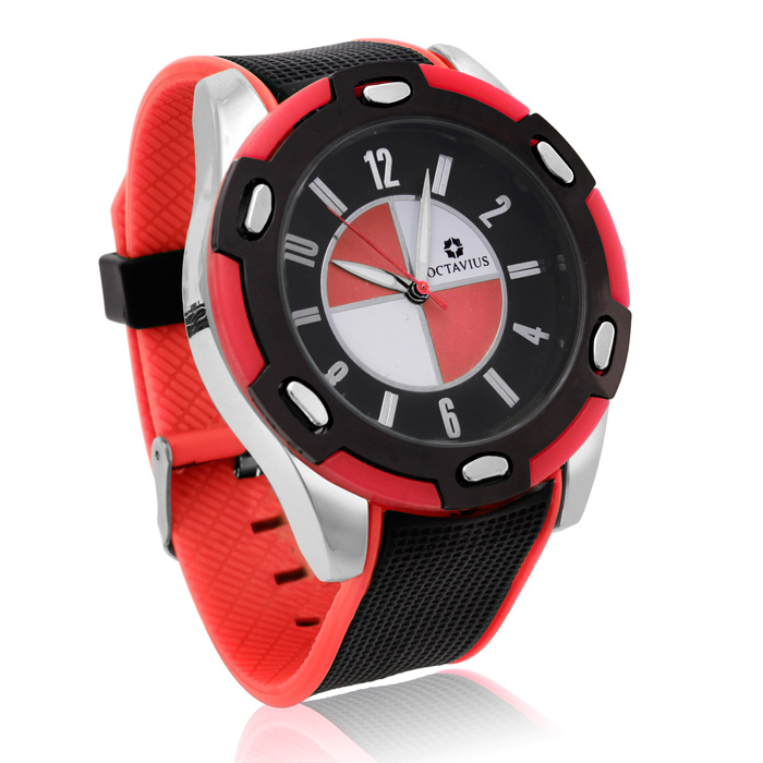 Octavius Men's Formula II Watch - Red