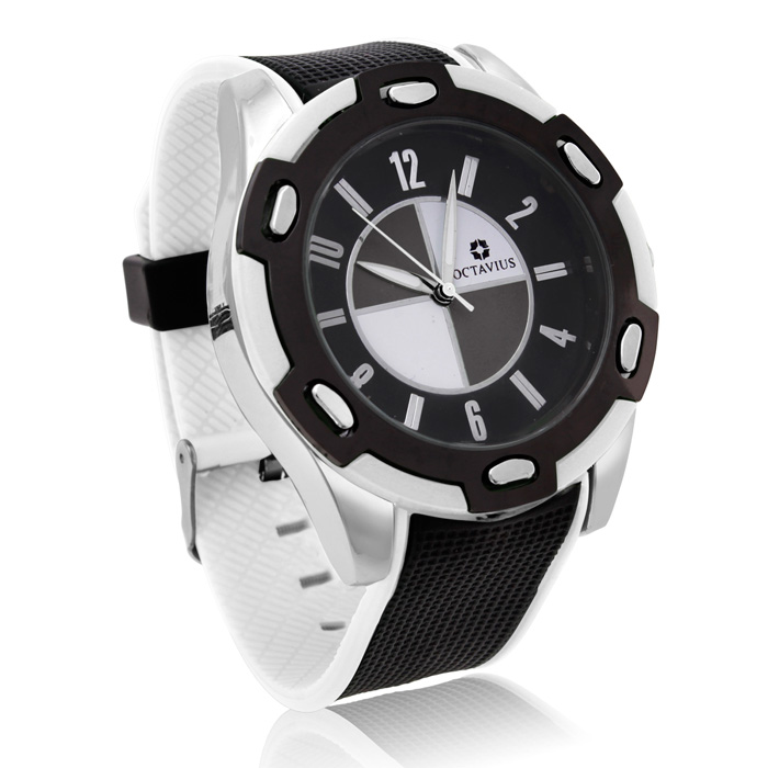 Octavius Men's Formula II Watch - White