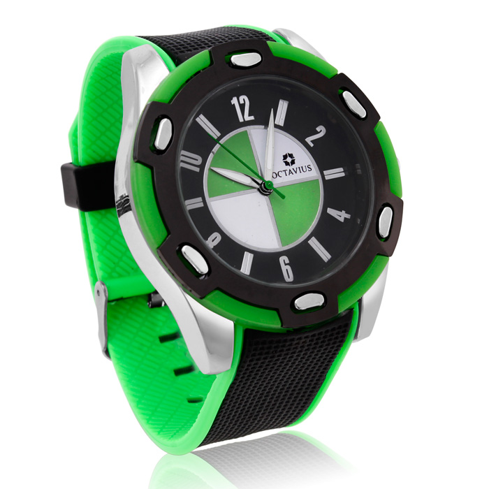 Octavius Men's Formula II Watch - Green