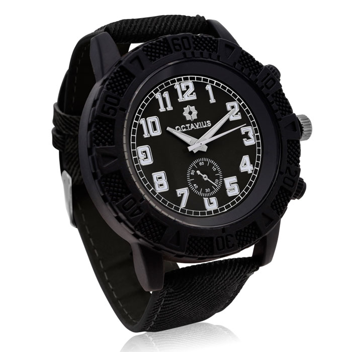 Octavius Men's The Luthor Watch - Black