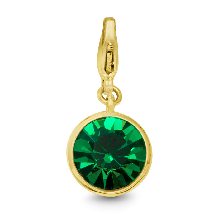 Emerald Crystal Birthstone, For May Babies-Yellow