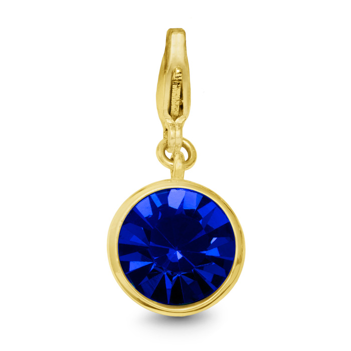 Sapphire Crystal Birthstone, For September Babies-Yellow