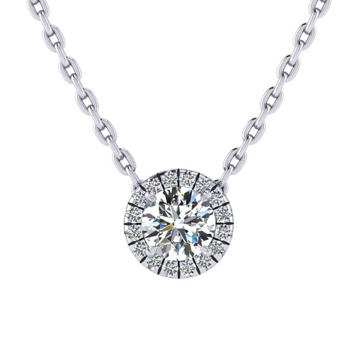 1/2ct Universe Diamond Necklace
