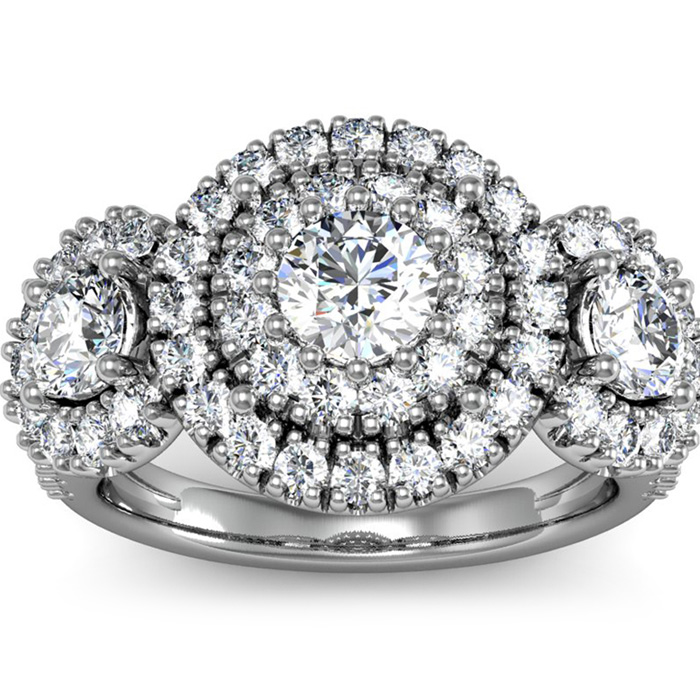 La Gigante! The Hugest Ladies' 2 Carat Engagement Ring In SuperJeweler History!