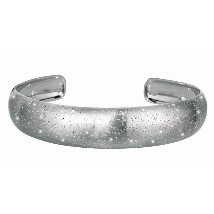 Sterling Silver Stardust Cuff