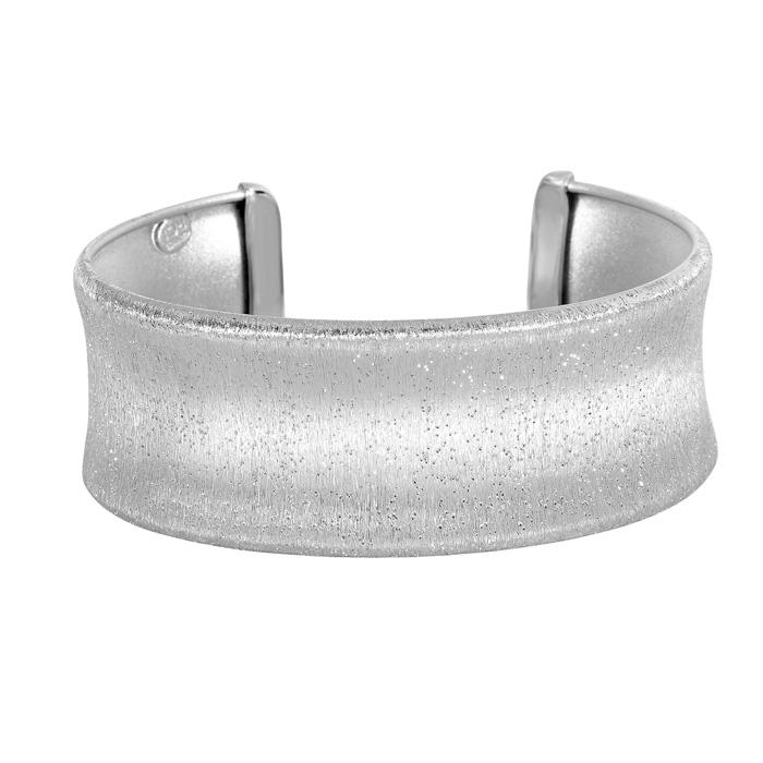 Sterling Silver Stardust Stylish Cuff
