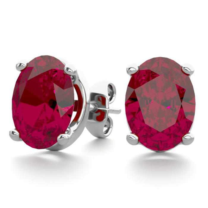 Tresor Collection - Ruby & Rainbow Moonstone Ring In 18k Yellow Gold