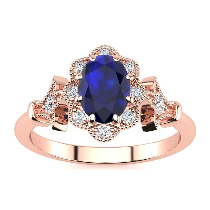 Sapphire Blue Hamsa Coin Necklace