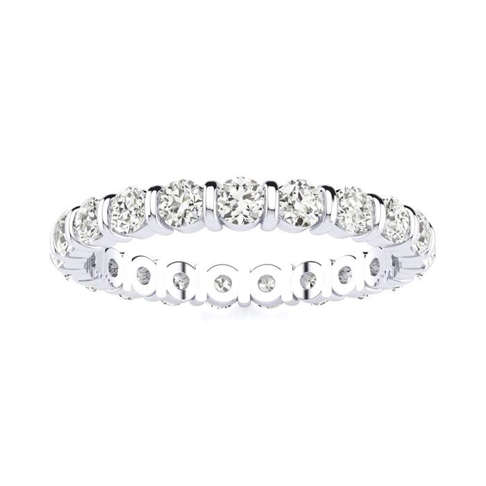 FROM $999.99 Rounded Bar Set Diamond Eternity Band