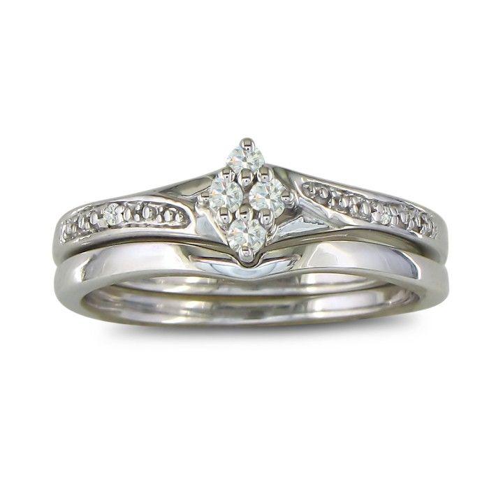 1/10ct Diamond Bridal Set thumbnail
