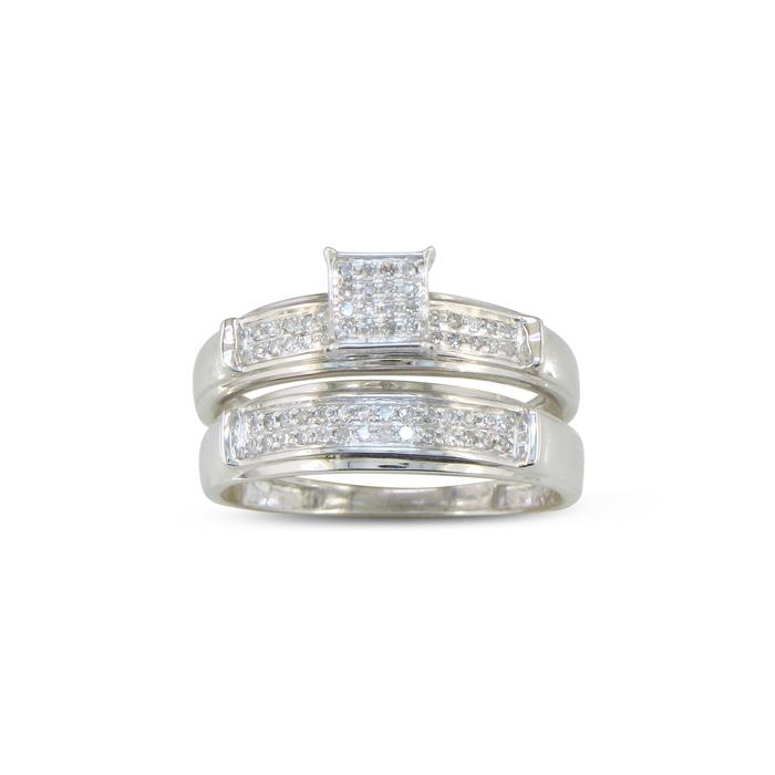 1/5ct Diamond Bridal Set thumbnail
