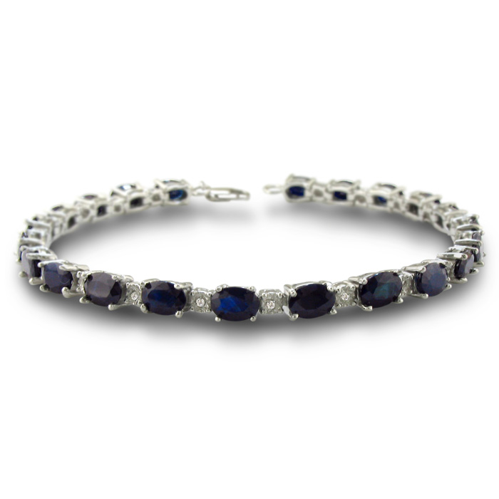 15ct Sapphire and Diamond Bracelet