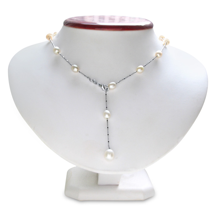 jewelpearl.com view the photo of  Pearls by the Yard Necklace