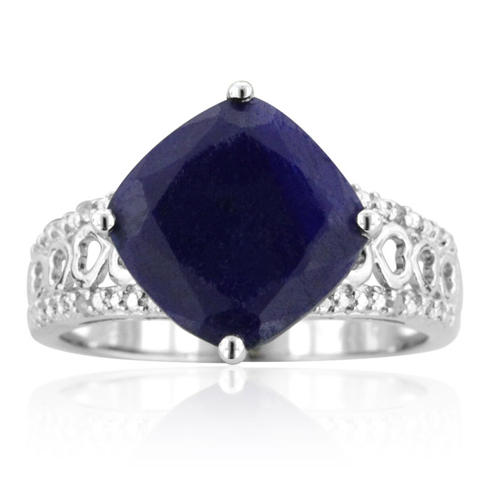 Sapphire and Diamond Ring- Christmas Jewelry gifts