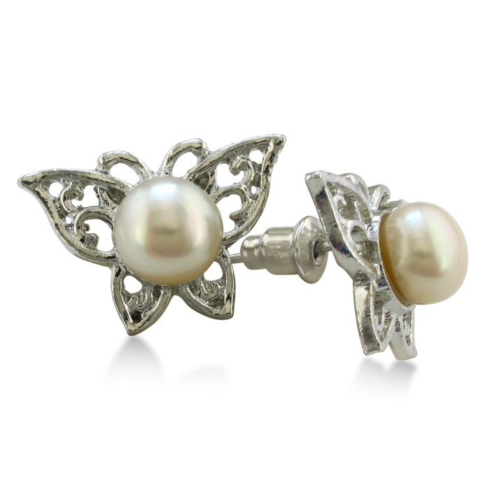 Butterfly Shaped Freshwater Pearl Earrings  June. Ishani Earrings. Yellow Flower Earrings. Surgical Plastic Earrings. Green Tourmaline Earrings. Screw Type Earrings. Punk Rocker Earrings. Bengali Earrings. Real Pearl Earrings